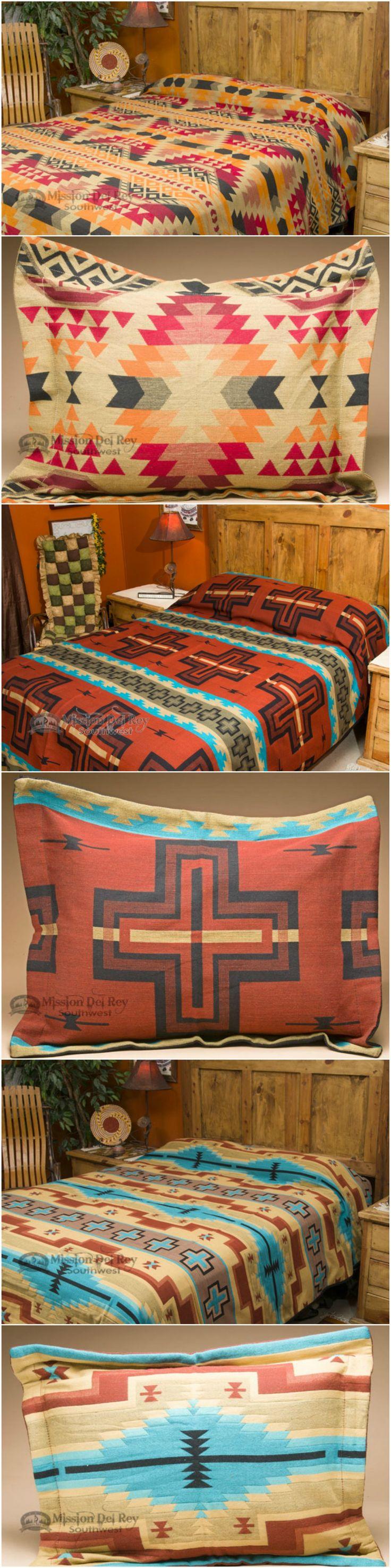 Southwestern Style Pillow Shams : 45 best images about Southwestern Bedspreads & Western Comforter Sets on Pinterest Acrylics ...