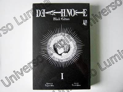 Death Note Black Edition vol. 01 http://universolumina.com.br/produto/death-note-black-edition-n01/