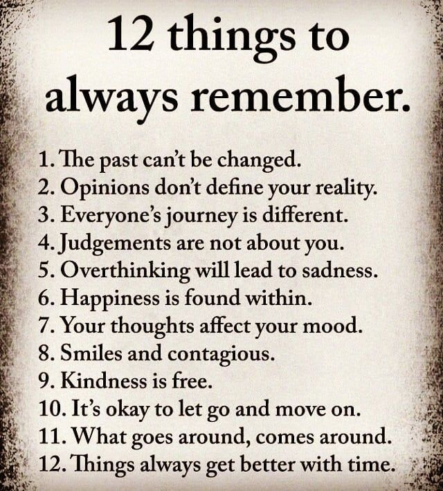 Diese 12 universellen Dinge können dein Leben ver…