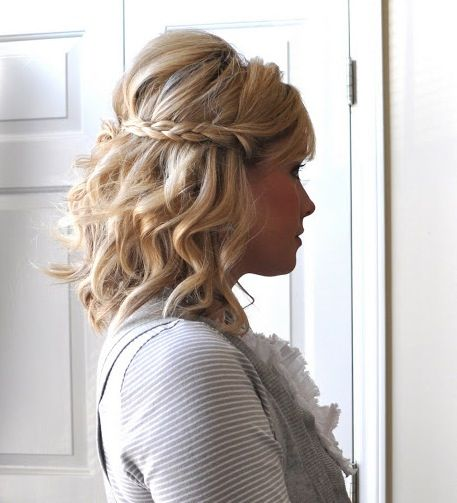 What the heck am I going to do with my hair for Lauren's wedding?