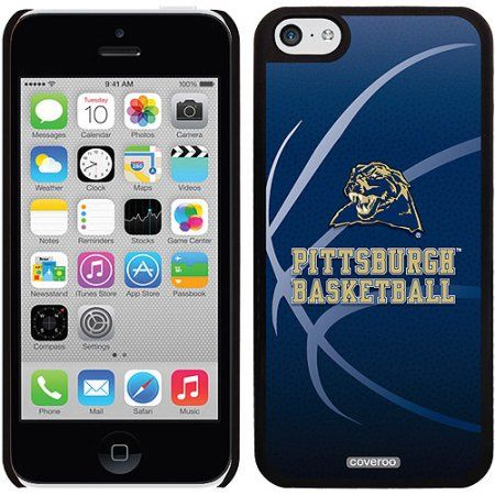 University of Pittsburgh Basketball Design on Apple iPhone 5c Thinshield Snap-On Case by Coveroo