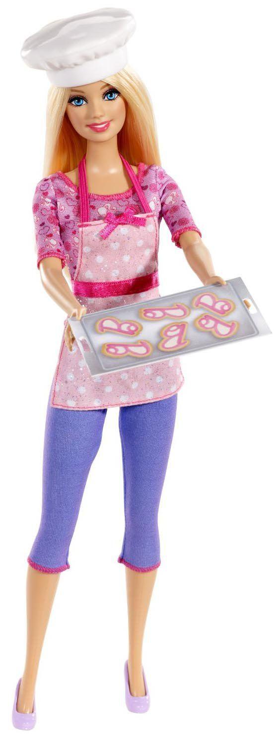 reciclandoenelatico.com   Barbie Careers Cookie Chef Doll / 24.3.29 qw