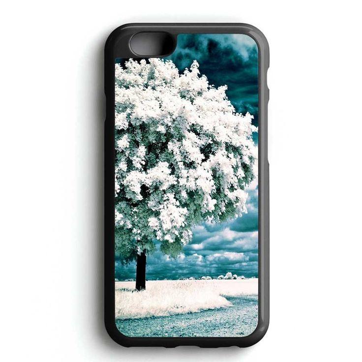 Winter Snow Tree iPhone 7 Case