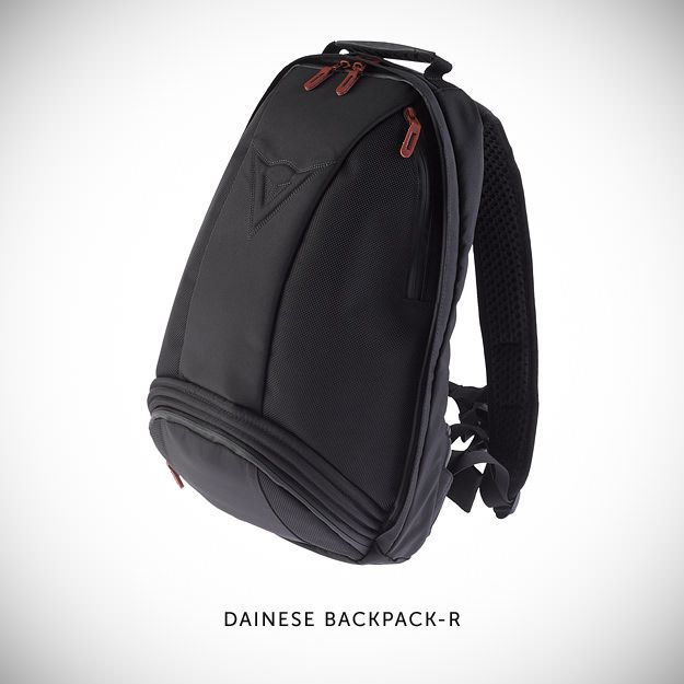 5 of the best moto back packs Dainese Backpack-R motorcycle . Expandable and fits a helmet, check out the Kreiga 20l. Or Oggio.