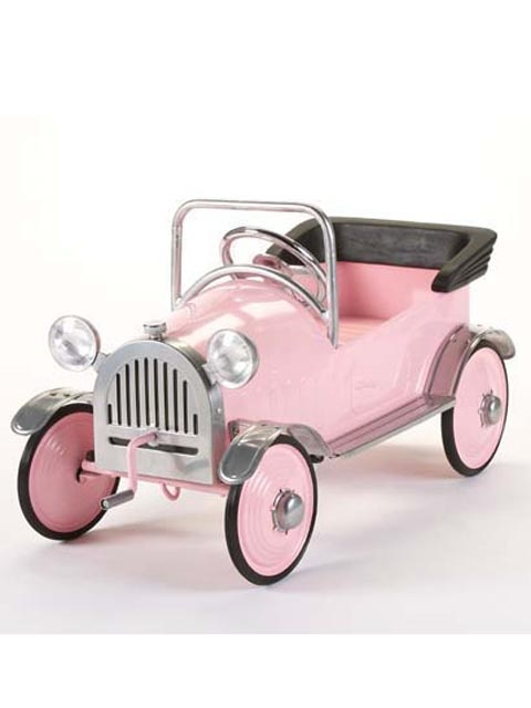 Cars - Afirlow Pink Princess Pedal Car from thebellacottage.com