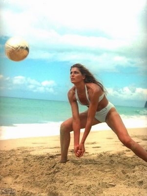 One of the Volleyball Greats and A beautiful Woman!!