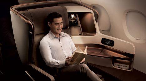 Photos: Singapore Airlines' new business class seats - Flights | hotels | frequent flyer | business class - Australian Business Traveller