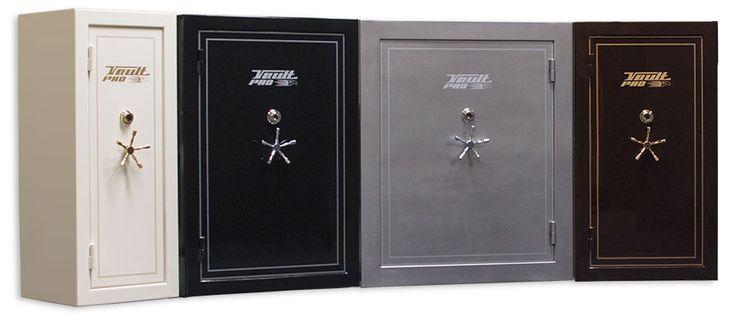 Gun safes and gun vaults from Vault Pro USA