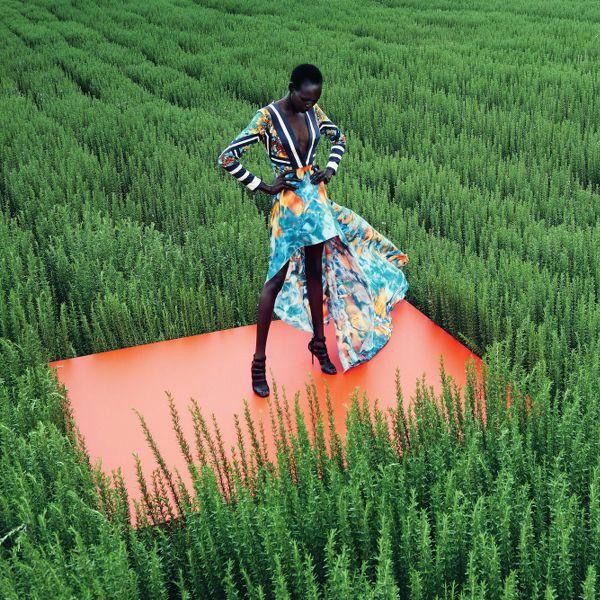Ajak Deng Neiman Marcus Julia Noni - #editorial #fashion curated by #pepevillaverde @pepevillaverde