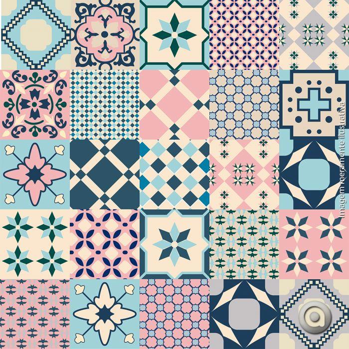 25 melhores ideias sobre adesivo azulejo no pinterest for Azulejo sobre azulejo