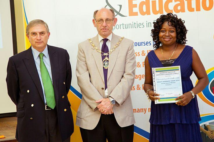 Olanrewaju Oluwakayode won an Children's Centre award