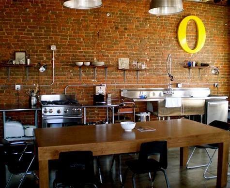 Brick Kitchen · Brick Wall DecorBrick ...