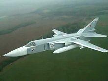 Sukhoi Su-24M in flight