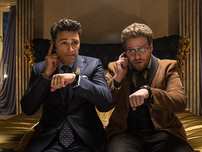 La película, protagonizada por Seth Rogen y James Franco, ha ganado 6 mdd en la taquilla después de que cines independientes difundieron una versión limitada el día de Navidad. (AP)