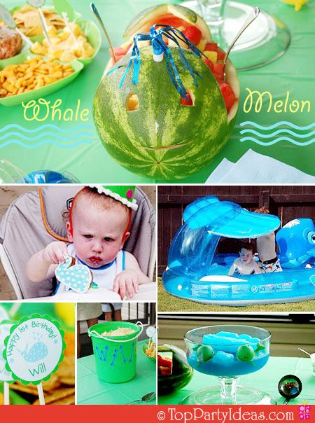 Look at the watermellon. LOVE IT!
