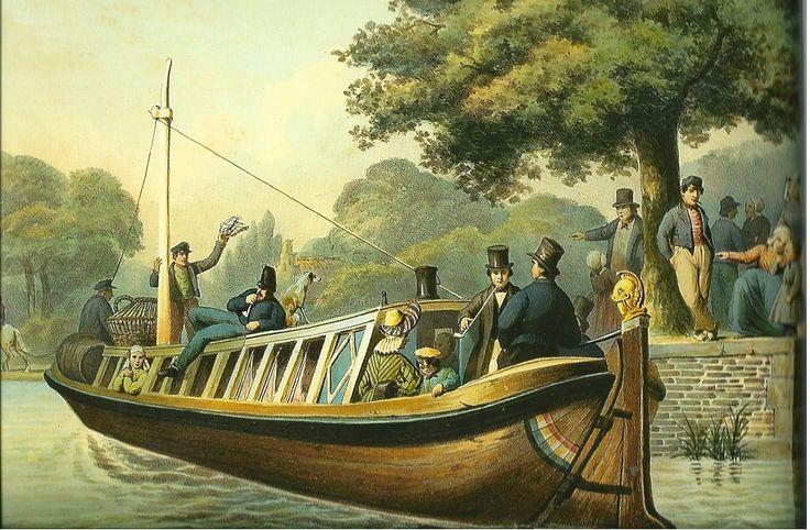 Trekschuit Zuid Holland - uitgebreide geschiedenis en veel afbeeldingen en bronnen