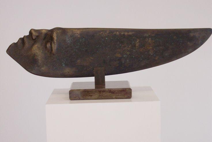 """""""Fishead"""" - bronze - author Jakub Blazejowski"""