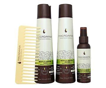 Set capelli fini Macadamia - 4 pz