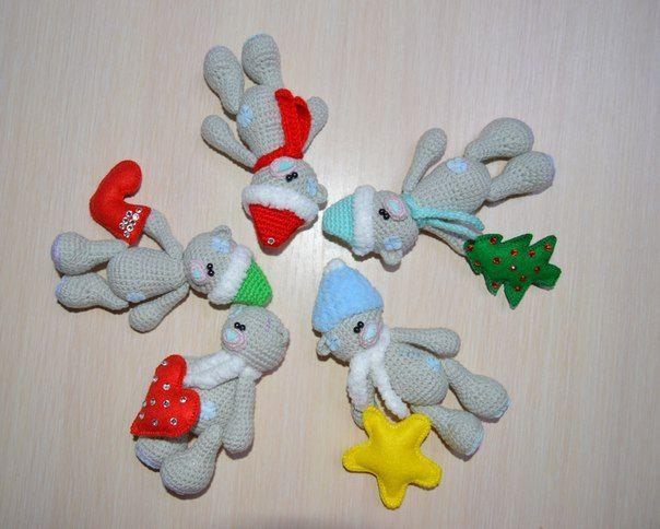 Схема вязания йо-йо