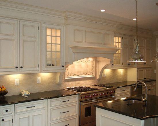 17 best images about kitchen backsplash on pinterest for Vent hood designs