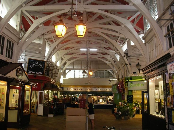 Covered Market Inside - Arcade (architecture) -