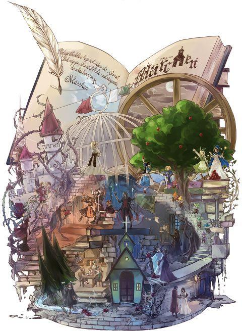 [pixiv] 【小さな世界】ヴィネット特集 - pixivスポットライト