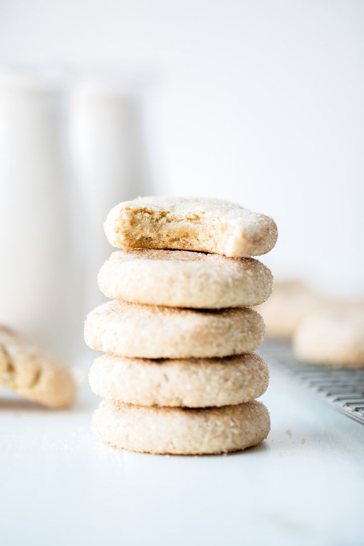 The softest paleo snickerdoodles with hints of cinnamon + sugar in every bite. These will be your new go-to snickerdoodle recipe!