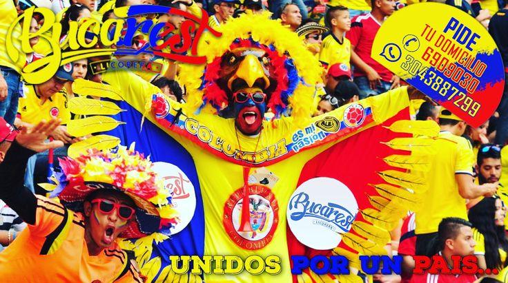 Vamos mi tricolor todo un pueblo unido a tu alrededor!!! Licorera BUCAREST Domicilios: 6909030 - 3043887299. BUCAREST Hace amigos! #unidosporunpais #licorerabucarest #vamoscolombia #FuerzaColombia