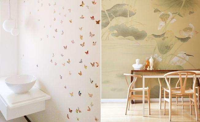 misha handmade wallpaper @ glottman | Glottman Alive