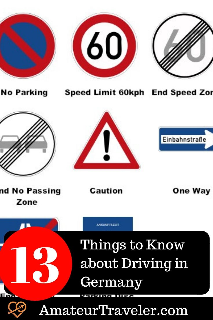 Driving In Germany 10 Things To Know Including German Road Signs