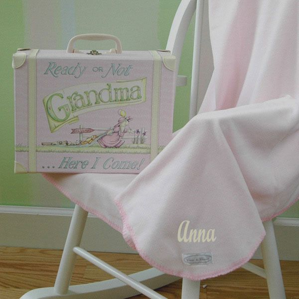 69 best theme precious cargo baby shower images on pinterest personalized baby suitcase blanket set pink personalization available precious cargo baby gift negle Image collections