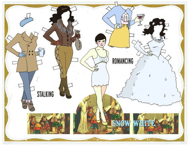 Snow White Paper Dolls!