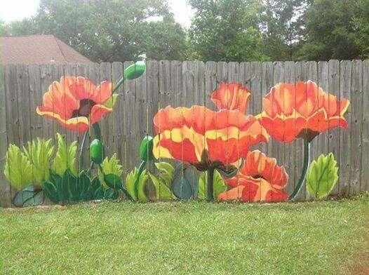 Fence mural idea!