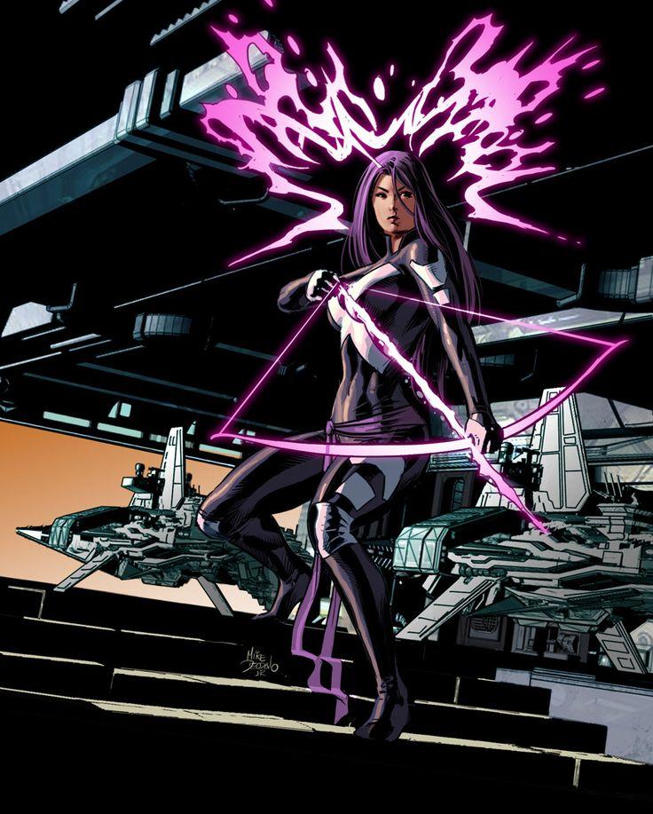Psylocke by Mike Deodato Jr. and Rain Beredo *