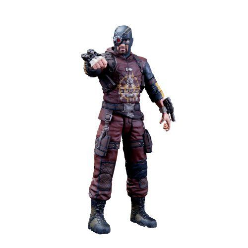 DC Collectibles Batman Arkham City: Series 4: Deadshot Action Figure by DC Collectibles. $21.39. From the Manufacturer                Set inside the heavily fortified walls of a sprawling district in the heart of Gotham City, it's filled with the most murderous villains from DC Comics' Batman universe. But Batman is ready to tackle it with all-new gadgets and his greatest—and most dangerous—allies. Which is good, because he'll need all the help he can ge...