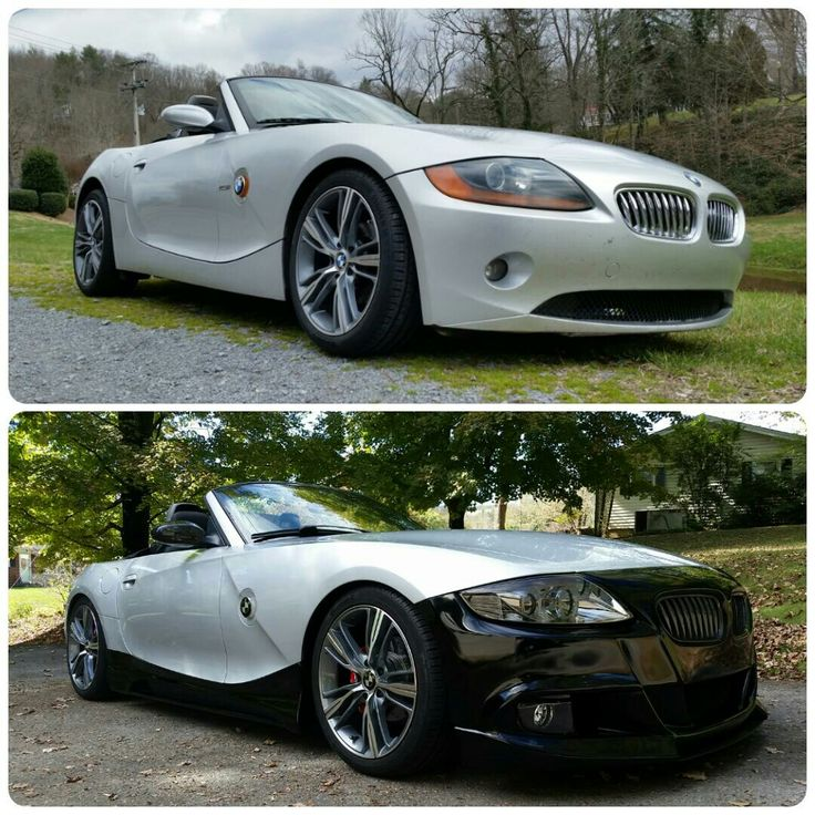 My 03 E85 Before Amp After Body Mods And New Paint Bmw Z4