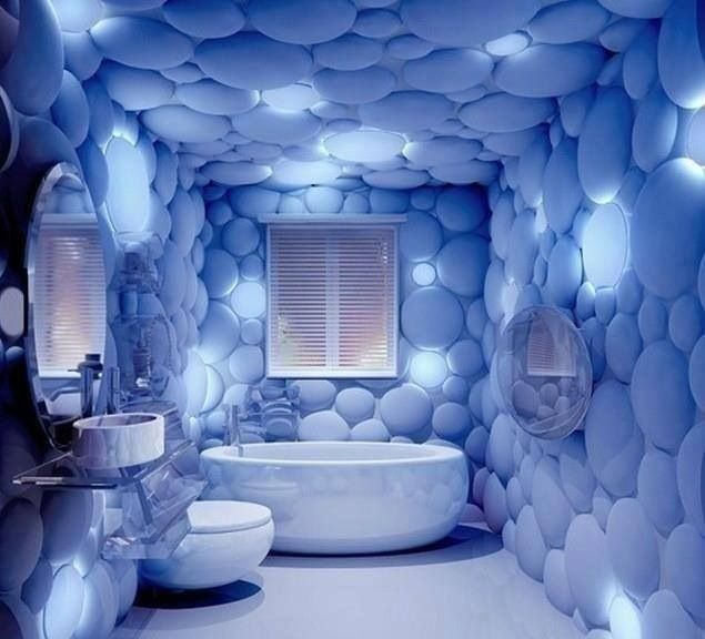 Marvelous Cool Bathroom!