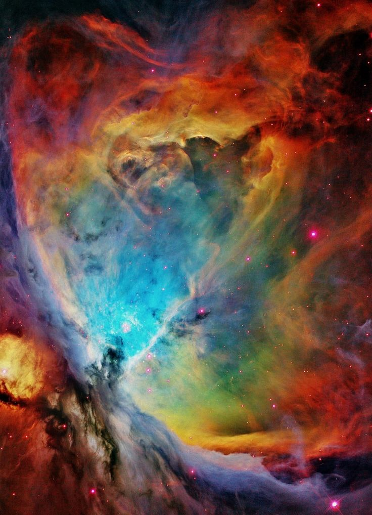 The Orion Nebula.. I can't even believe this is real. It ...