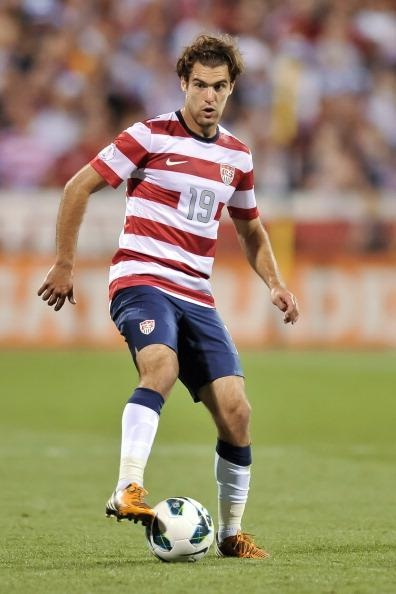 Graham Zusi of Sporting KC and the U.S. National Team. Photo by Jamie Sabau.