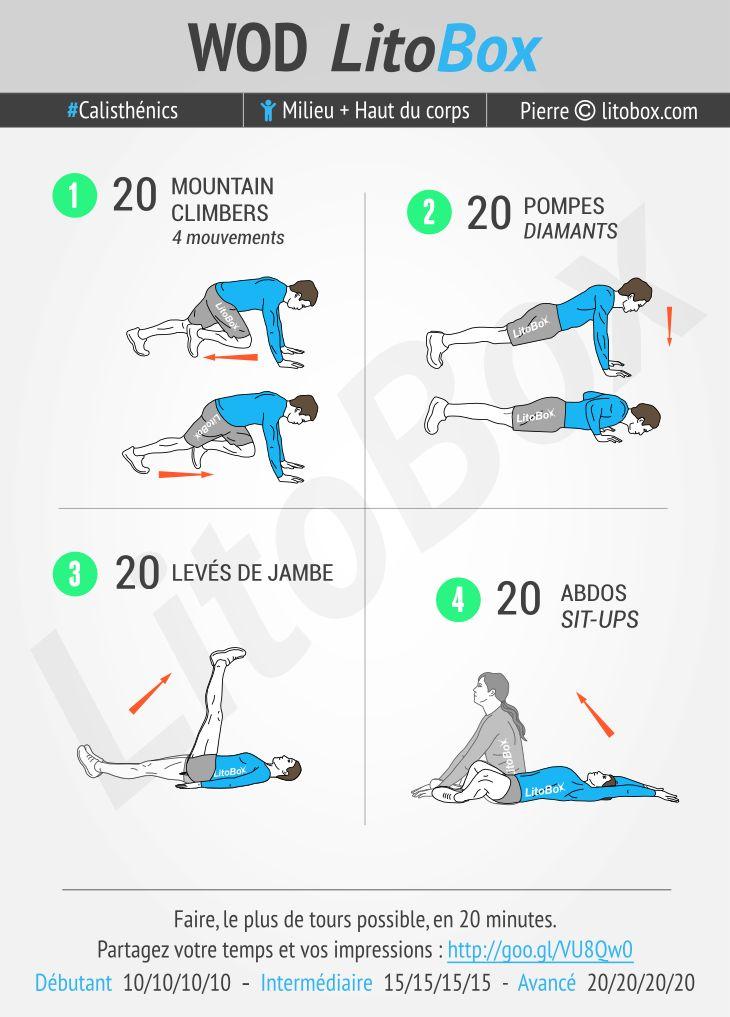 Ces 20 minutes d'exercices au poids du corps vont réveiller vos muscles reposés du week-end. La semaine commence bien ! Vous pouvez faire cet entraînement