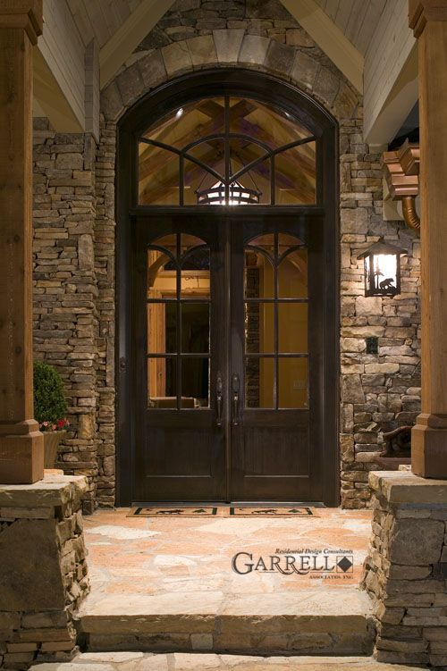 25 best ideas about double entry doors on pinterest for Large front entry doors
