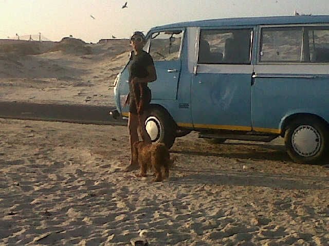 late afternoons on Muizenberg beach
