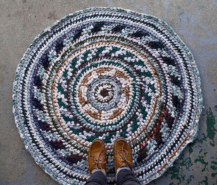 56 best Rag Rug images on Pinterest   DIY, Bedroom and Crafts