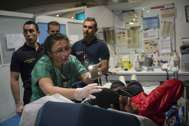 Un mois en immersion aux urgences, par Corentin Fohlen