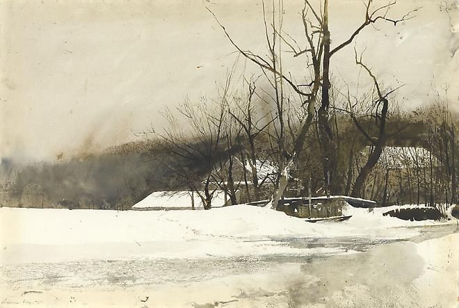 Andrew Wyeth WATERCOLOR