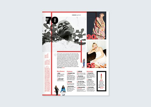 It's Nice That : The Guardian redesigns The Fashion supplement, and it looks fab