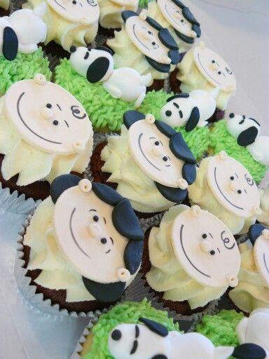 Peanuts Movies Cupcakes