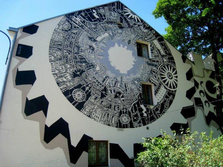Tuwima 19, Łódź, #poland #mural #streetart