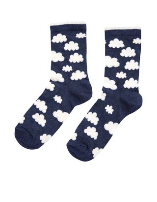 Get daydreamin' with our all-over cloud socks, made from a soft, stretchy mix of cotton for total comfort.