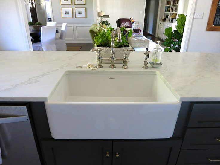 Honed Countertop Materials : Materials: countertops - Alabama White Marble honed and sealed ...